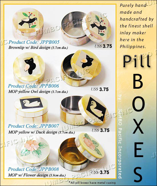 , Pill Boxes, Fashion Jewelry Wholesale